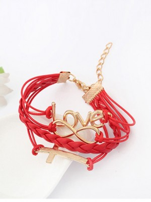 Korean version Romantic Password love Cross Hot Sale Armbänder