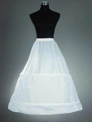 Nylon A-Linie 1 Tier Bodenlang Slip Style/Hochzeit Petticoats