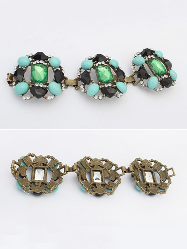 Occident Stylish Emeralds Luxurious Hot Sale Armbänder