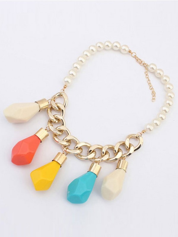 Occident Trendy Street shooting Personality Hot Sale Halsketten