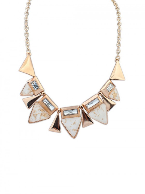 Occident OL Style Geometry Triangle Elegant Hot Sale Halsketten