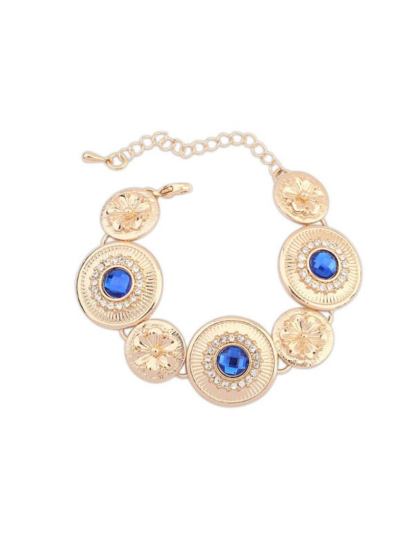 Occident Fashionable Popular Round Plate Hot Sale Armbänder