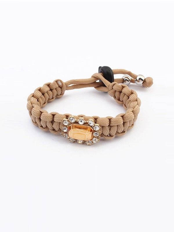 Occident All-match Woven Concise Hot Sale Armbänder
